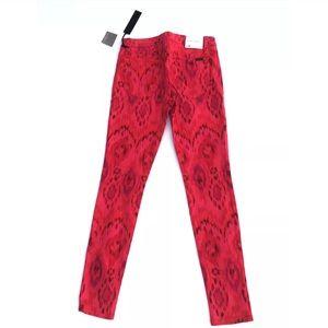 New Joe's Red Skinny Jeans Sz 27